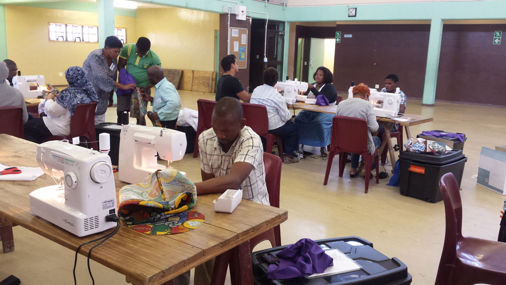 CITY OF CAPE TOWN – SEWING TRAINING